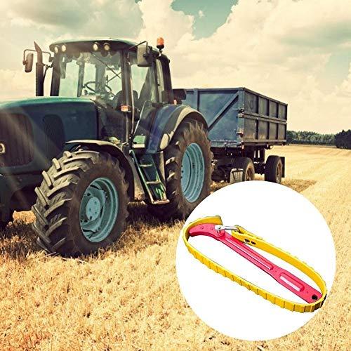 Filtro de aceite, Filtro de aceite llave llave llave filtro de aceite tirador correa llave inglesa cadena aceite de aceite cartucho de desmontaje herramienta (Color : 8)