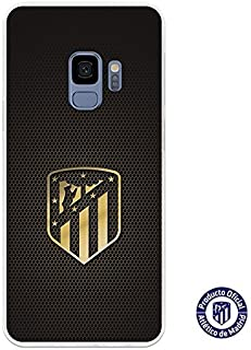 c57db59f32c Atlético de Madrid Carcasa Oficial Escudo Oro para Samsung Galaxy S9