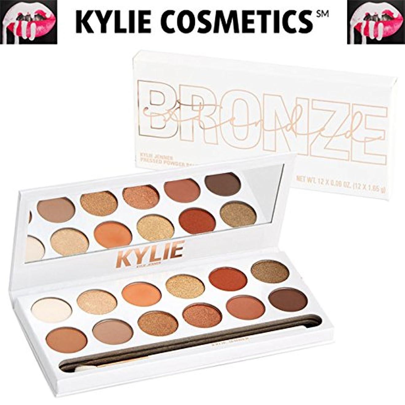 食い違い生博物館Kylie Cosmetics(カイリーコスメティック)Bronze Extended Eyeshadow Palette ブロンズ エクステンデット パレット