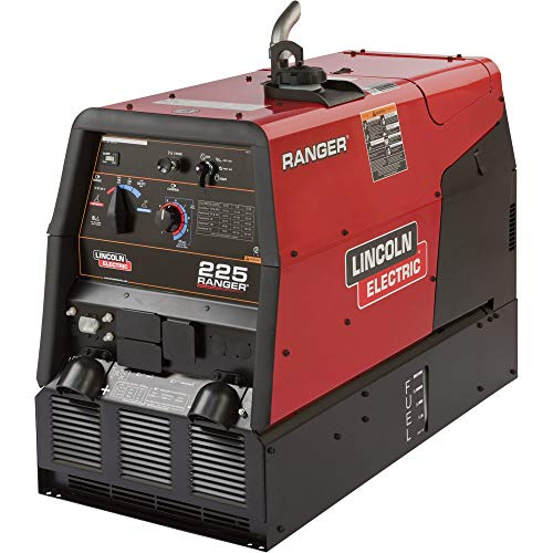 Lincoln Electric Ranger 225 Multi-Process/Welder Generator with Kohler 23 HP Gas Engine and Electric Start - 20-225 Amp DC Output, 10,500 Watt AC Power, Model Number K2857-1 Generators