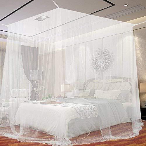 Moustiquaire de lit carrée 2m...