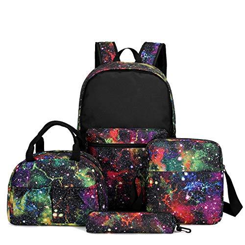 Kids backpacks boys with lunch box preschool for Boys & Girls Lightweight School Bookbag,4 Piece Value Set