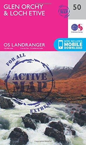 landranger active 50 glen orchy