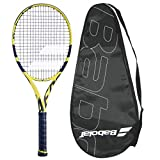 Babolat 2020 Pure Aero 26 Junior Tennis Racquet - Strung with Cover - Scaled Down Adult Technology -...