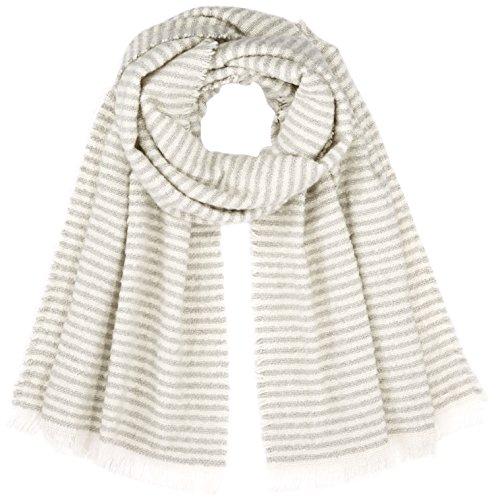 OPUS Damen Asebra scarf Schal, Grau (Iron Grey Melange 8057), One size (Herstellergröße: 0)