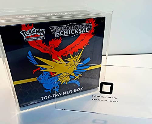Acryl Premium Schutzbox / Case passend für Pokémon ETB & Top-Trainer Box