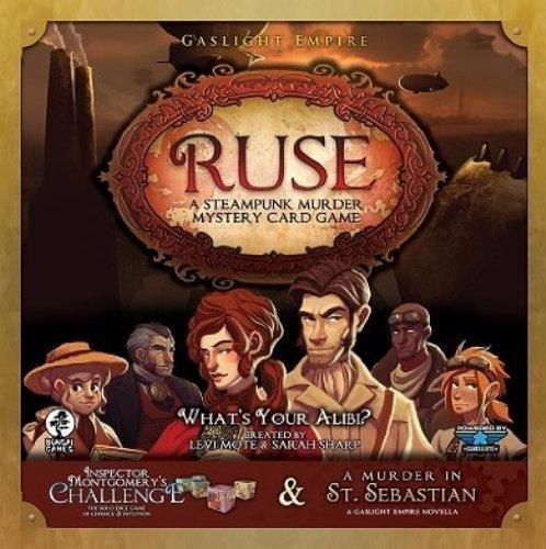 Brettspiel - Ruse ein Steam-Punk-Krimi-Kartenspiel