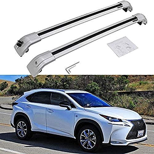 Coche Barras De Techo Portaequipajes Para Lexus NX...