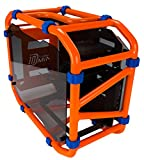 In Win Motorcycle Steel Tube Mini- ITX Computer Case D Frame Mini Orange