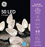 GE StayBright 50-Count 24.5-ft Sparkling Warm...