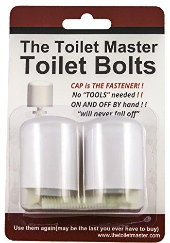 Toilet Floor Bolts & Caps Sets