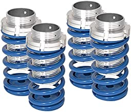 Fit Mit Eclipse 89-99/Nissan Sentra 91-99/Toyota Corolla 93-97/Toyota Tercel 95-99 Scale Type Coilover Spring Blue/Silver Sleeve