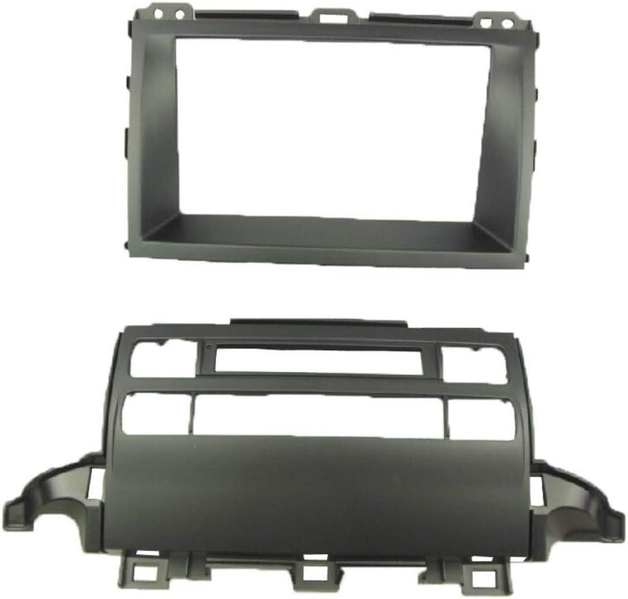 XMEIFEI PARTS Double lowest price Din Fascia for Radio J120 Prado DVD Toyota Complete Free Shipping