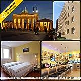 Reiseschein Vale de Viaje – 4 días de Vacaciones Cortas en Berlín en el Centro de A&O Berlín – Vale para Hotel de Viaje Corto de Vacaciones Regalo