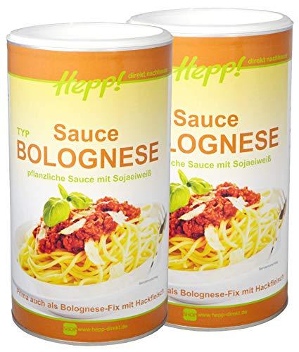 Hepp GmbH & Co KG - Bolognese Sauce Vegan (2 x 700) GR