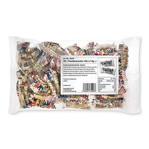 Krott Süßwaren 40 x Traubenzucker-Uhr a 14g