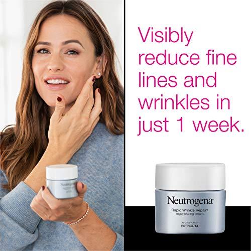 51wl6dEDj4L - Neutrogena Rapid Wrinkle Repair Retinol Regenerating Anti-Aging Face Cream & Hyaluronic Acid; Anti-Wrinkle Retinol Moisturizer & Neck Cream, with Hyaluronic Acid & Retinol, 1.7 oz