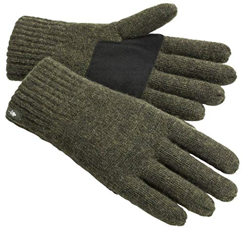 Pinewood 1122 Wool Knitted Handschuh Moosgrün Melange (194) M-L