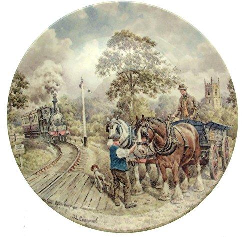 Wedgwood an der Kreuzung Land Anschlüsse John Chapman Zug Teller