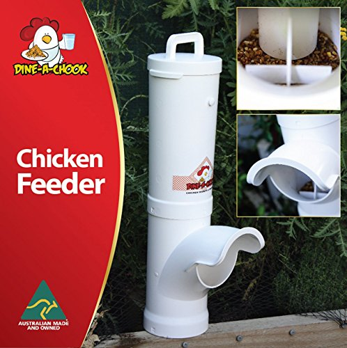 NEU Hühner Futterautomat DINE A CHOOK