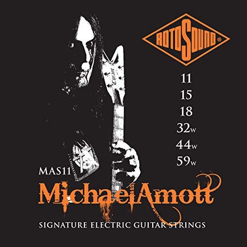 Rotosound MAS11 - Juego de cuerdas para guitarra, 11-59