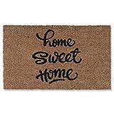 LWL Felpudo De Palma De Coco Sweet Home, Antideslizante Y...
