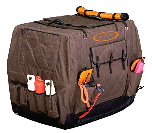 Mud River Dixie Kennel Cover, Brown, Large Extended (37″ x 26″ x...