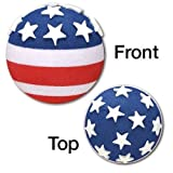 Tenna Tops American USA Flag Car Antenna Topper/Antenna Ball/Mirror Dangler. Patriotic 4th of