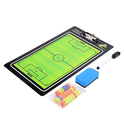 Dioche Tactics Voetbal-tactische map, coach board, magneetbord, voor leer, training en leer