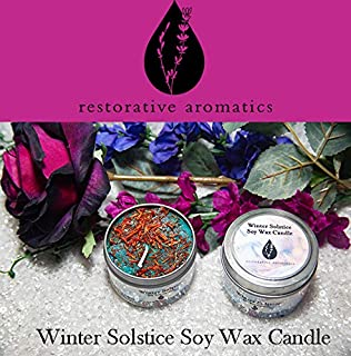 Winter Solstice Soy Wax Candle