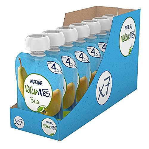 Naturnes BIO Bolsitas fruta Nestlé pera 90g - Pack de 7