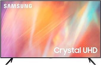 "Samsung TV UE50AU7190UXZT, Smart TV 50"" Serie AU7100, Modello AU7190, Crystal UHD 4K, Compatibile con Alexa, Grey, 2021, DVB-T2 [Escl. Amazon][Efficienza energetica classe G]"