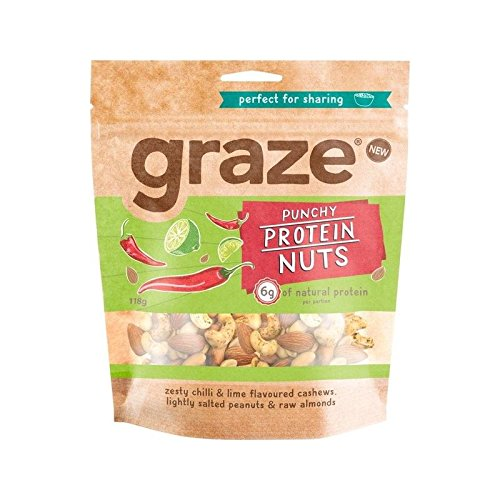 Graze Punchy Protein Nuts 120g