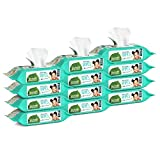 Seventh Generation Baby Wipes, Free & Clear Unscented and Sensitive, Gentle as Water, Refill, Total 768 Count (Packaging May Vary), 64 Count (Pack of 12)