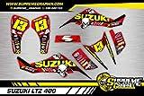Kit Adhesivos Mate Suzuki LTZ 400 ADESIVO Sticker KLEBER AUFKLEBER