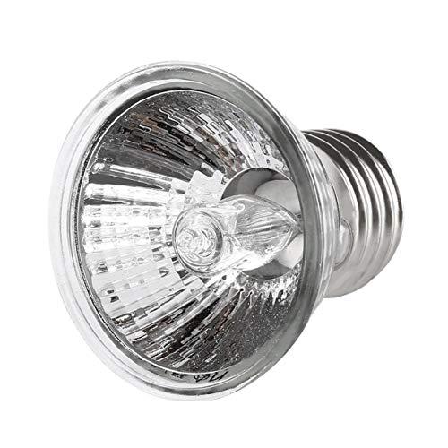 Sairis 25 W 50 W 75 W Tortuga Basking luz UV E27 Anfibios Lucertole lámpara Calefactor lámpara portátil para Reptiles de Espectro Completo