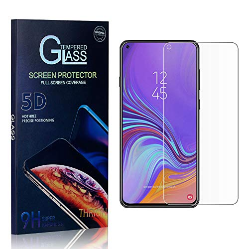 THRION Panzerglas Schutzfolie für Galaxy A8S, Anti-Bläschen, Anti-Kratzen, Bildschirmschutz Panzerglasfolie Folie für Samsung Galaxy A8S, 3 Stück