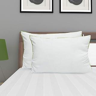 Home Centre Symphony Set of 2 Pillows - 45 x 70 cm - White