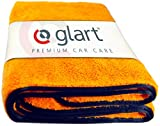 Glart 44WG Watergate, tissu sec en microfibre super absorbant, orange, 1 pièce