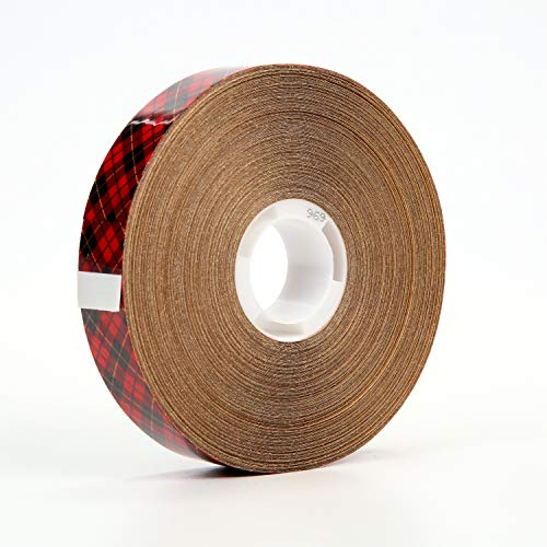 Scotch ATG Adhesive Transfer Tape 969, Clear, 3/4 in x 36 yd, 5 mil