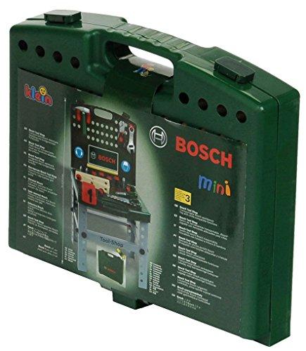 Theo Klein 8676 Bosch werkbank, inklapbaar met Ixolino II, spel