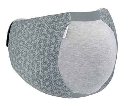 Babymoov Dream Belt - Ergonomischer Gürtel für den Schlafkomfort der schwangeren Frau, elastisch, passt sich an alle Schwangerschaftsphasen an L/XL, grau