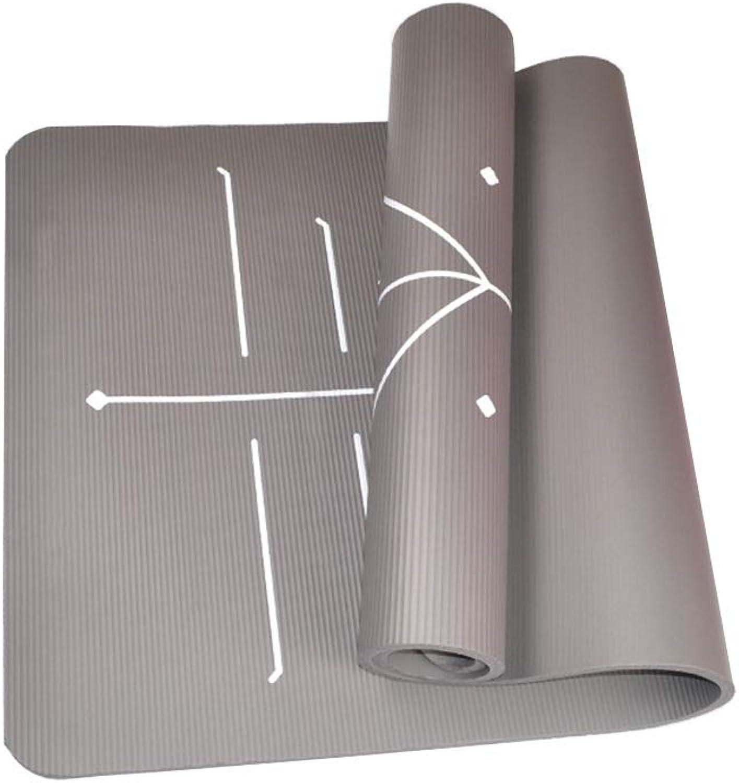 Zs-zs Yogamatte Sportmatte Fitness 15mm Extra Dickes NBR-Pad Mit Hoher Dichte Für Pilates, Fitness- Und Trainingsgürtel