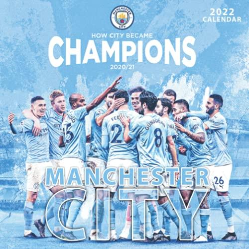 Manchester City calendar 2022: soccer calendar 2022. SPORT Calendar 2022-2023 – 18 months – BIG SIZE 17'x11'. Planner for all fans kids boys