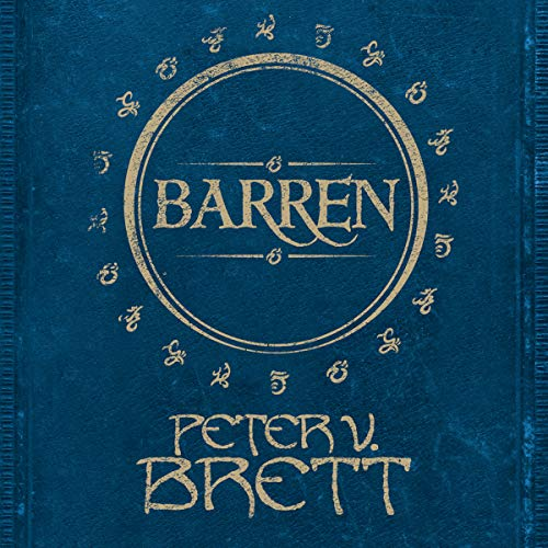 Barren audiobook cover art