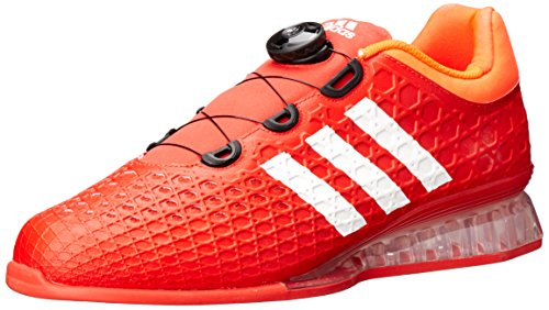 adidas Men's Leistung 16 Weightlifting Shoes, Red/White/Infrared, 11.5 D(M) US