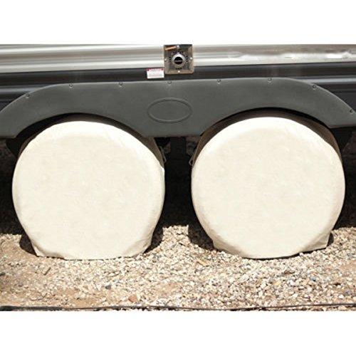 Rosenice Reifen-Abdeckungen aus Hanf für Wohnmobile, 28Zoll Durchmesser, 4 Stück