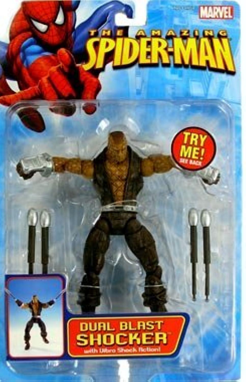 mejor servicio SpiderMan Acción Figura Dual Blast Shocker by by by Spider-Man  precios bajos