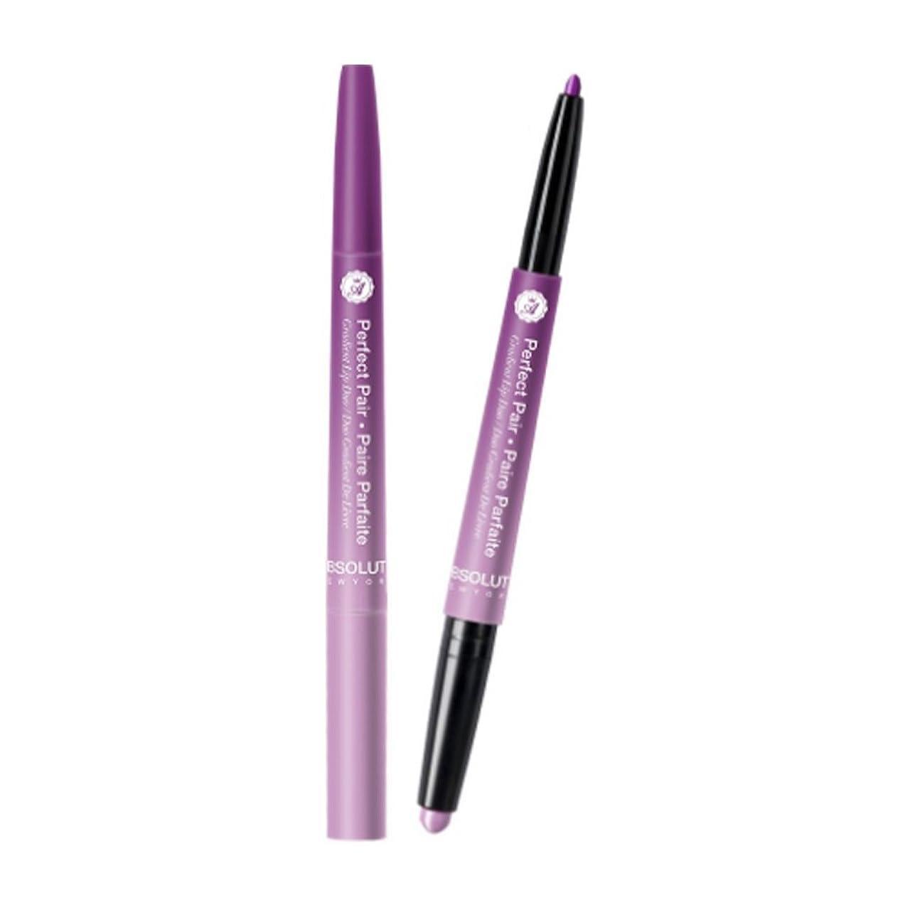 耕す電化する少ない(6 Pack) ABSOLUTE Perfect Pair Lip Duo - Lush Lilac (並行輸入品)