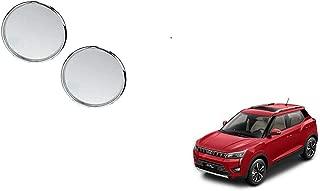 Autoladders Chrome Blind Spot Mirror Set of 2 for Mahindra Xuv 300